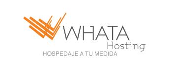 whatahosting, soluciones web